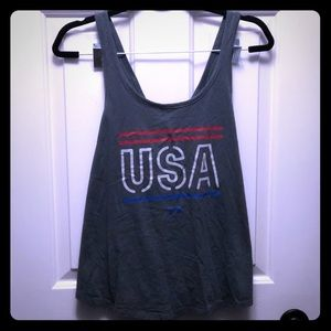 Under Armour racerback tank size large EUC
